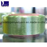 FDY Fio de poliéster 300d / 288f Micro Filamento Dope Dyed