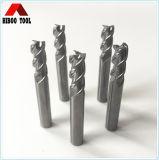 Strumenti di macinazione lunghi del carburo 3flutes per il taglio dell'alluminio