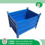 Recipiente de volume de aço dobrável para armazenamento de armazém