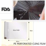 Le PE ou le PVC percé s'attachent enveloppe de film, enveloppant le film