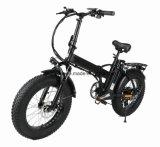 20 pouces pliant le mini gros vélo électrique/gros vélo de pneu/le vélo plage E de sable