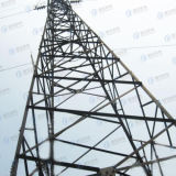 Tour tubulaire de télécommunication de l'acier HDG de cornière
