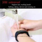 Puls-wasserdichte Schwimmenintelligentes Wristband-Armband D21