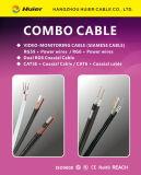 Kombiniertes Kabel Rg59 mit Cat5e