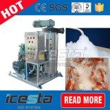 Fácil Transporte Água Refrigeração Seafood Market Slurry Ice System