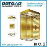 رفاهية مرسة ذهبيّة يحفر [ستيلّ] صامد للصدإ لأنّ صغيرة آلة غرفة مسافر مصعد