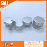 Recipiente de alumínio prateado de 30g para creme hidratante