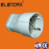 В европейском стиле и стандартный провод заземления 2 контактный разъем питания (P8051)