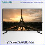 Bâti étroit de haute résolution de l'angle de visualisation large DEL TV de salle de séjour de 40 pouces