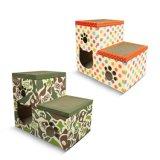 Dreieck Design Katze Kratzer Spielzeug Wellpappe Karton Scratcher Board