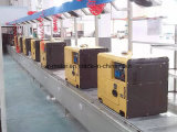 세륨과 ISO9001를 가진 디젤 엔진 침묵하는 발전기