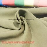 Tela teñida poliester para la alineada, capa, camisa, cortina, bolso, tela de la ropa, paño de la cena,