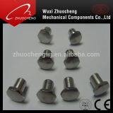 ステンレス鋼ISOの証明の304個の316個のドームのヘッドSemi-Tubularリベット