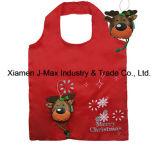 Bolso del regalo de la Navidad, estilo de los ciervos de la Navidad, plegable, práctico, ligero, promoción, regalos, bolsos, accesorios y decoración