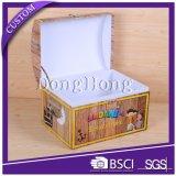 Коробка нося бумаги подарка ручки тесемки упаковывая складывая