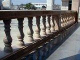 Pierre de granit naturel blanc personnalisé Baluster pour la décoration intérieure de rampe extérieure