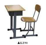 Populärer justierbarer Schulmöbel-Studien-Schreibtisch und Stuhl-Set