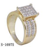 최신 디자인 925 다이아몬드를 가진 은 보석 반지