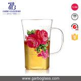 160ml de nieuwe Kop van de Thee van het Glas van Pyrex Borosilicate van het Ontwerp met Handvat