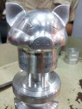 Cnc-maschinell bearbeitende Aluminiumteile, Präzision, die Ersatzteile maschinell bearbeitet