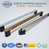 La maneta de aluminio/de aluminio de la protuberancia con superficial y colorido aplicada con brocha anodiza (ISO9001: 2008 y RoHS certificados)