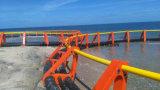 Fischzucht-Rahmen mit Netz und dem Verankerungssystem