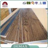 Mattonelle di pavimento di legno del vinile del PVC del grano dell'ultima natura ecologica