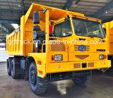 中国POWSUNのブランド6*4鉱山のダンプトラック