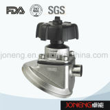 Нержавеющая сталь Пневматический Гигиеническая зажимная мембранный клапан (JN-DV2002)