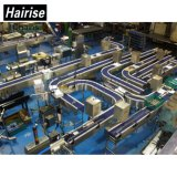 La courroie d'alimentation alimentaire Hairise Four convoyeur à l'accumulation de plastique Redler