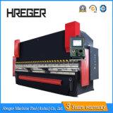 para 10 toneladas largas y 135 del pie con CNC Control&Wila de 4 ejes que embrida la máquina del freno de la prensa
