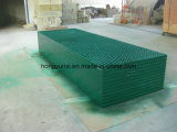 Pultruded rejillas de fibra de vidrio como cobertura o de la plataforma o pavimento