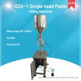 Het verticale Deeg van de Zuiger van het Type Enige Hoofd en Vloeibare het Vullen Machine voor Yoghurt (gza-1)
