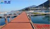 Buen precio y la venta caliente de la aleación de aluminio Pasarelas escalera con WPC terrazas