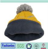 ニットジャカード帽子
