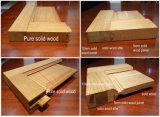 Hoja de la puerta de madera compuesta incombustible Interior con marco