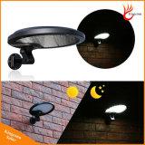 500lm 56 levou Piscina Jardim Solar Luz de parede do Sensor de movimento