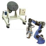 Tableau rotatoire du poste de travail de rotateur pour l'enduit de pulvérisation de manipulateur de bras de robot soudant le dispositif thermique de station de travail de jet