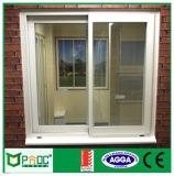 Finestra di scivolamento di alluminio di buoni prezzi di stile di Pnoc022303ls Europa