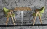 أثاث لازم إبداعيّة بيتيّة [دين تبل] خشبيّة وكرسي تثبيت يثبت ([لّ-بك088])