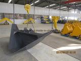 Position trapézoïdale d'excavatrice pour le canal de creusement