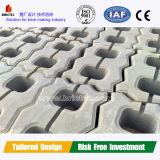 Máquina de fabricação de tijolos Brictec para linha de produção de blocos de concreto