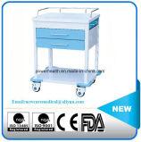 医療機器の鋼鉄緊急のカート