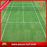 Precio barato falsos alfombra de césped natural en exteriores para el campo de deportes