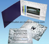 Cliente Deisgn regalo de promoción baratos 7inch tarjeta de felicitación de vídeo (VC-070)