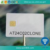 FM4442 SLE5528 SLE5542 Póngase en contacto con la tarjeta de PVC CI
