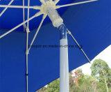 2.4m Pare-soleil double extérieur Parasol à la plage Parasol Patio