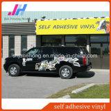 Vinil auto-adesivo cola preto para impressão de carro