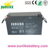 Batterie industrielle industrielle à l'acide sans plomb 12V150ah pour énergie solaire
