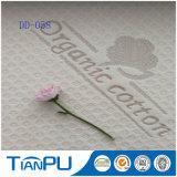 Hangzhou ha lavorato a maglia il tessuto organico del materasso del cotone per il materasso del lattice